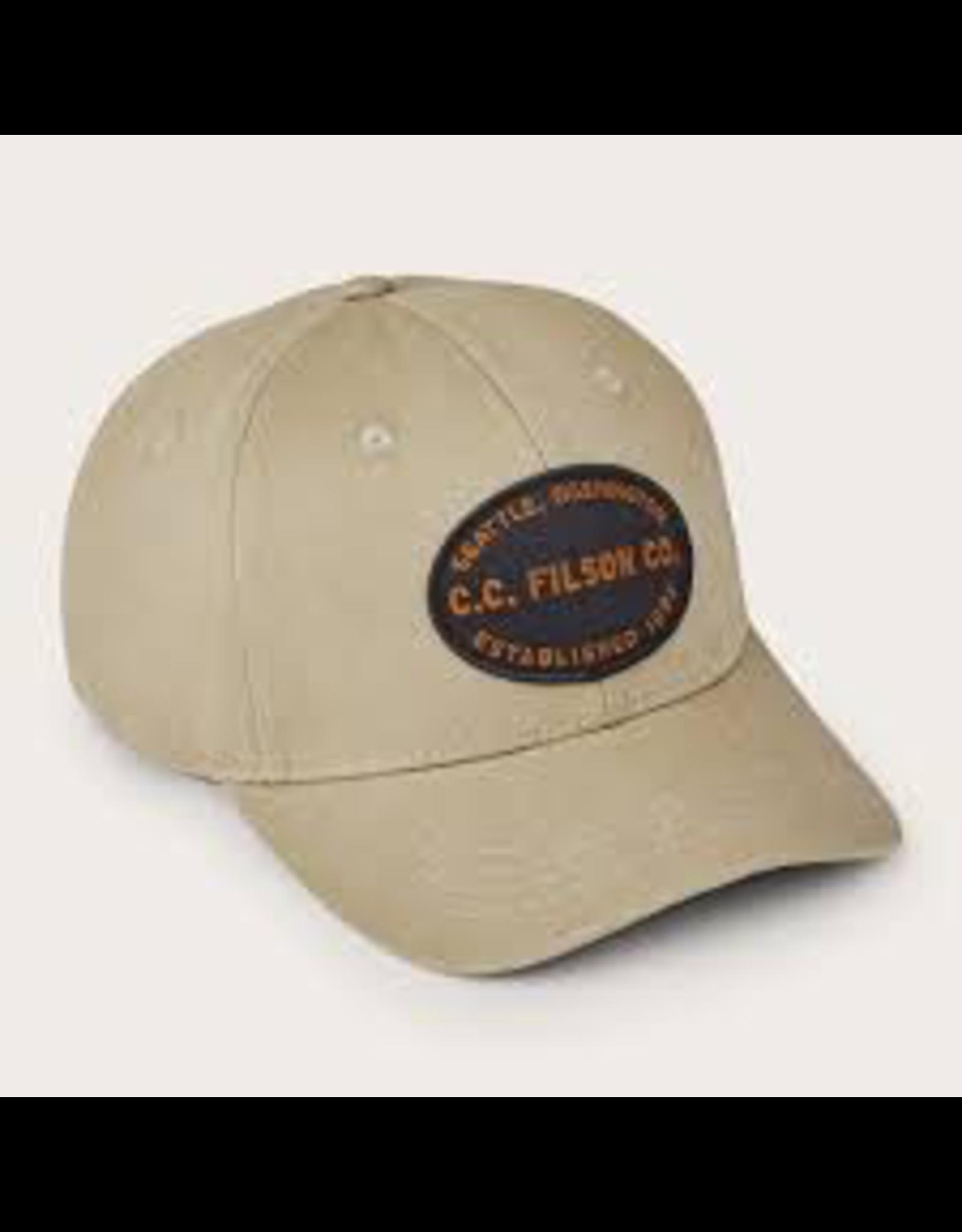 Hats Filson 20116452<br /> Twill Logger Cap Beige