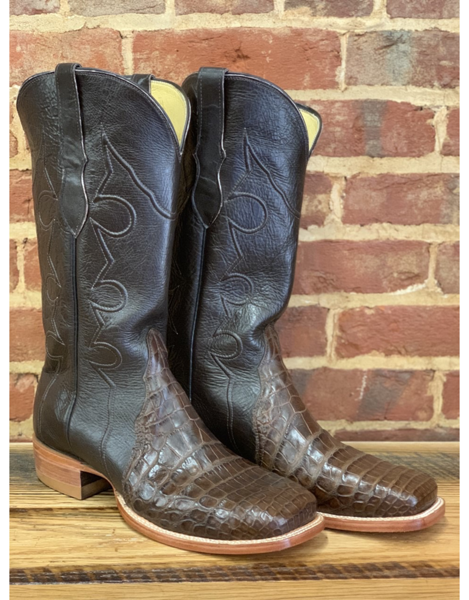 Hewlett & Dunn Q8708<br /> American Alligator Belly