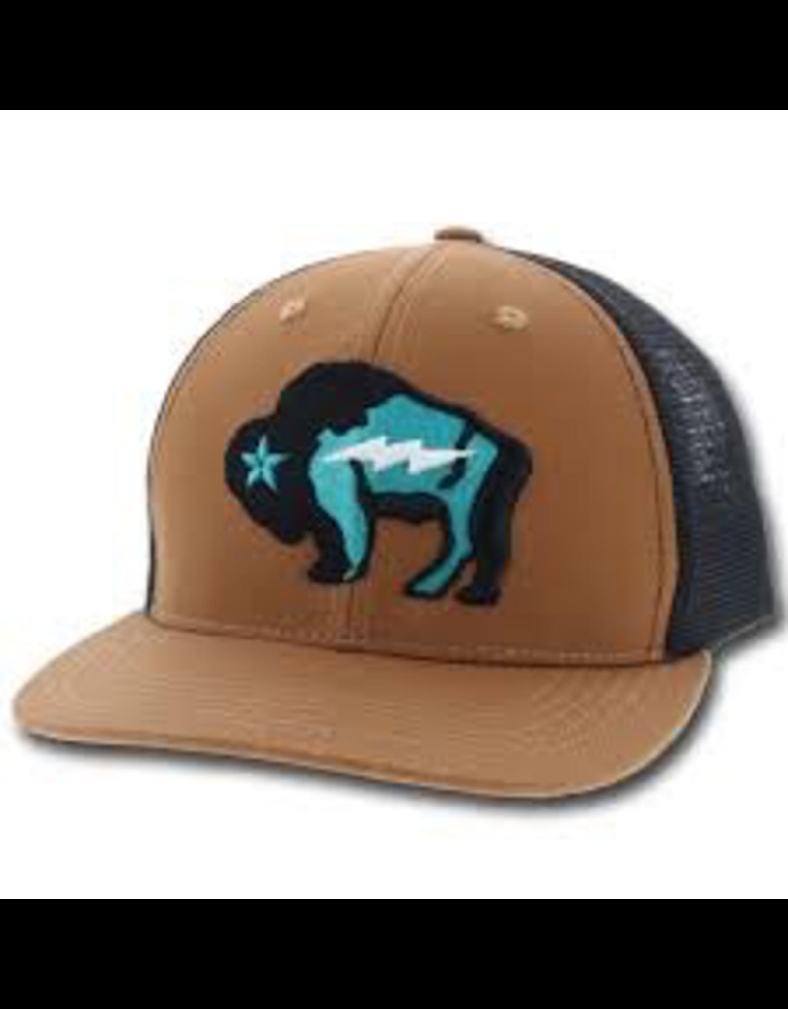 Hats Hooey 9421T<br /> Bison Trucker Cap