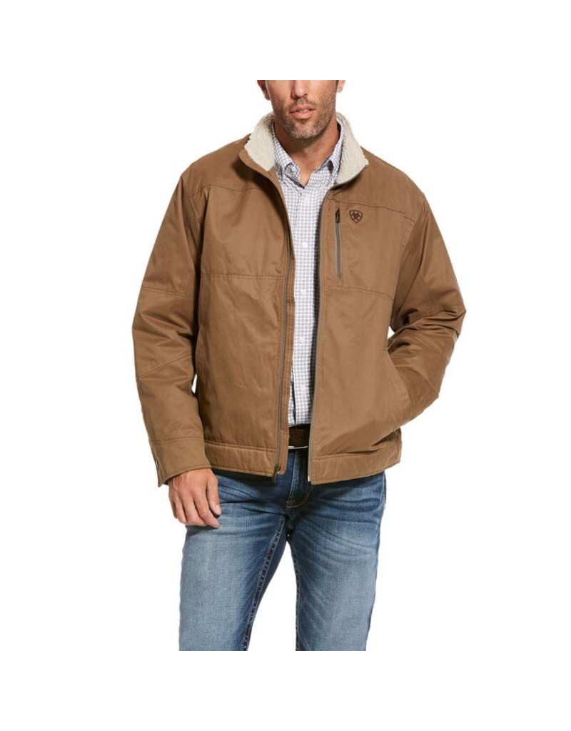 Outerwear Ariat 10028399<br /> Grizzly Canvas Jacket