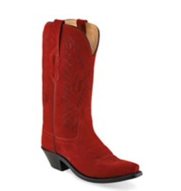 Boots-Women OLD WEST LF1519<br /> Red Roughout