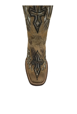 Boots-Women COWTOWN F402<br /> Silver Winged Cross