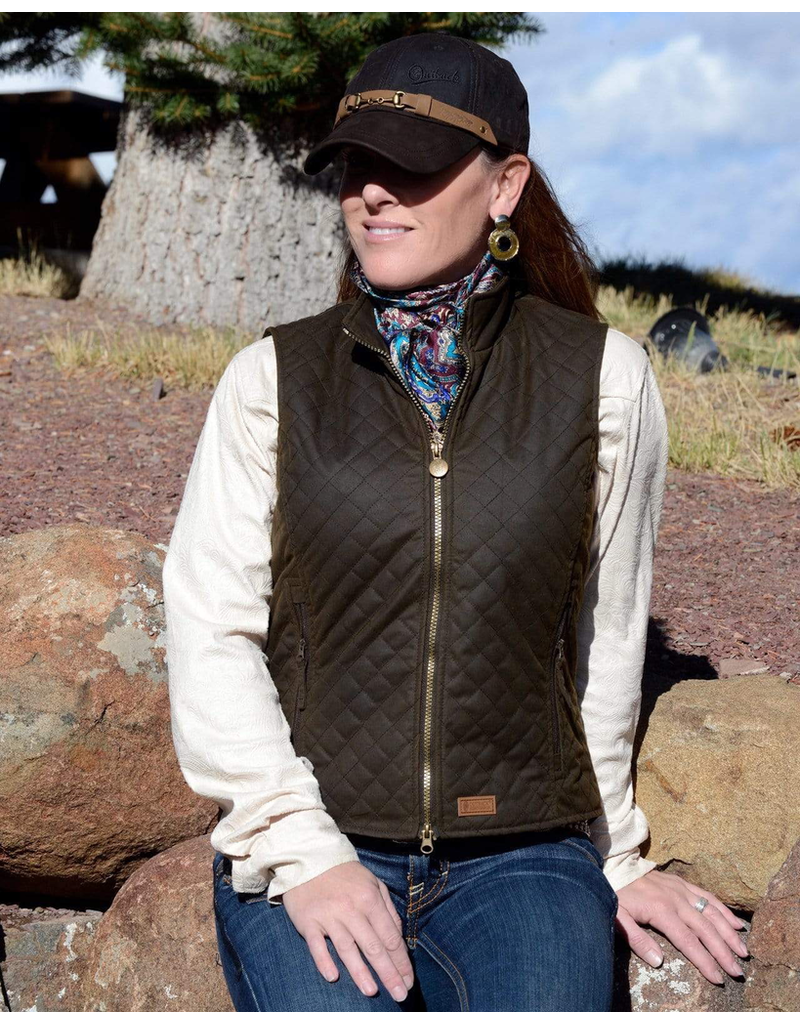 Outerwear OUTBACK Ladies Quilted Vest<br /> 2177