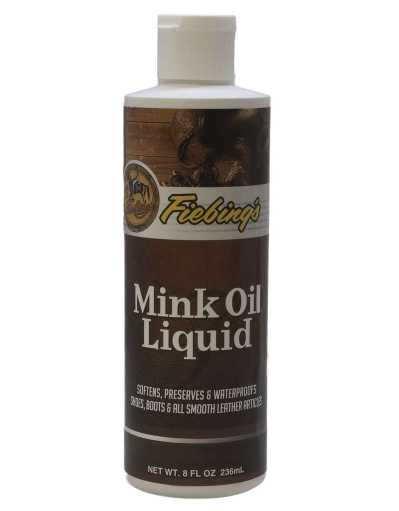 Boot Care Products Fiebings Mink Oil <br /> Liquid 8 oz.