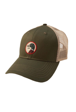 Hats DUCKHEAD D41007<br /> CIRCLE PATCH TRUCKER HAT, OSFM, PINE 391