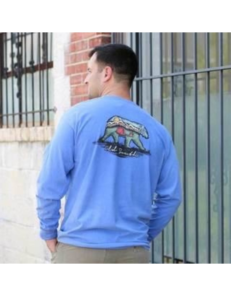 Tops-Men OLD SOUTH FW19ADLS-BEA<br /> Bear Mountain