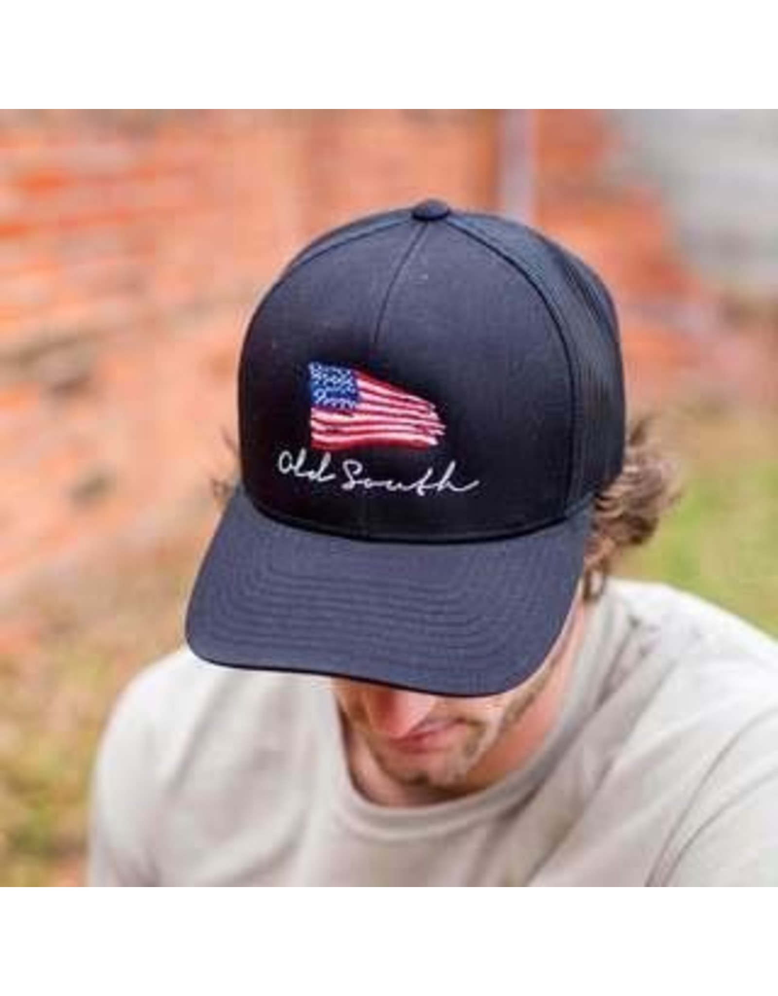Hats OLD SOUTH NS-AME<br /> American Flag