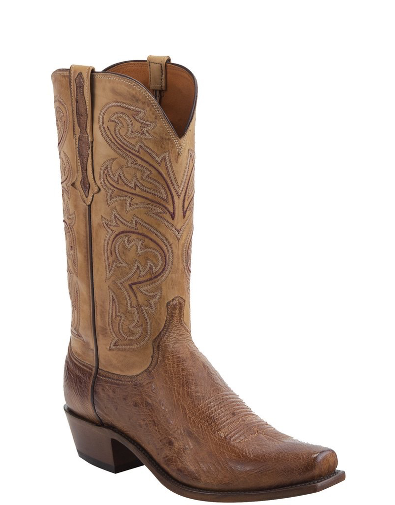 LUCCHESE Nathan N1160.74 Smooth Ostritch