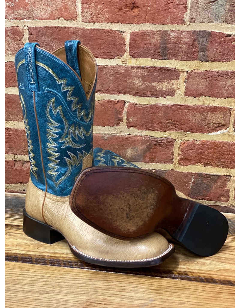 LUCCHESE M2671 9.5 D<br /> Tan Smooth Ostritch