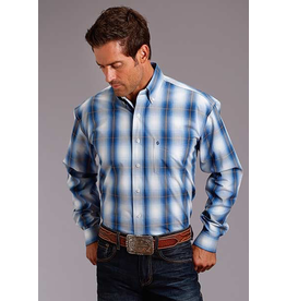 Tops-Men STETSON Mens Ombre Shirt