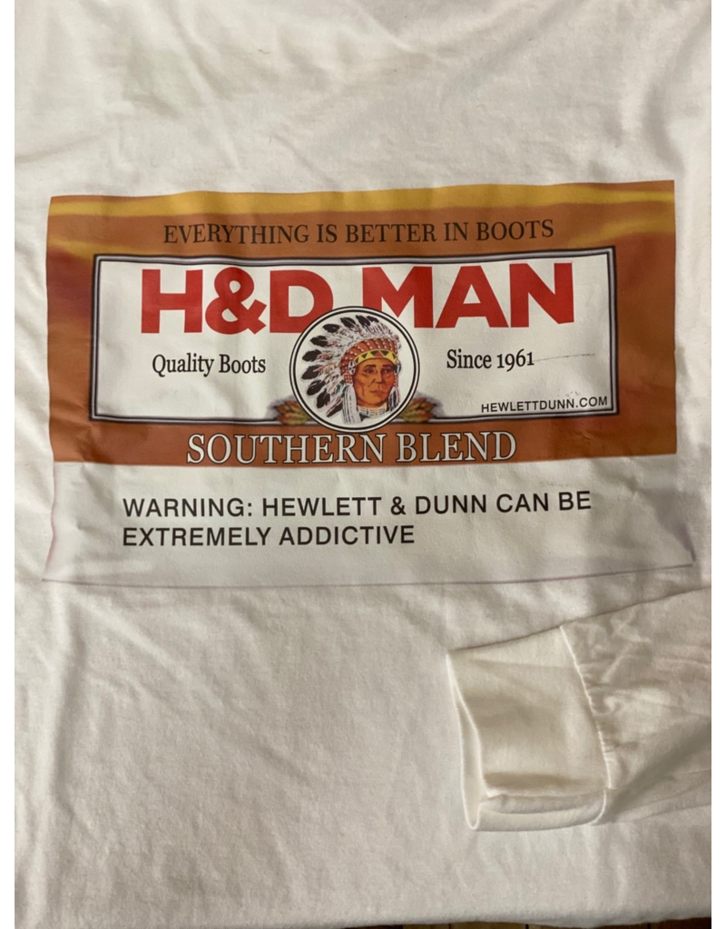 Tops-Men HEWLETT & DUNN Graphic T-Shirt Long Sleeve