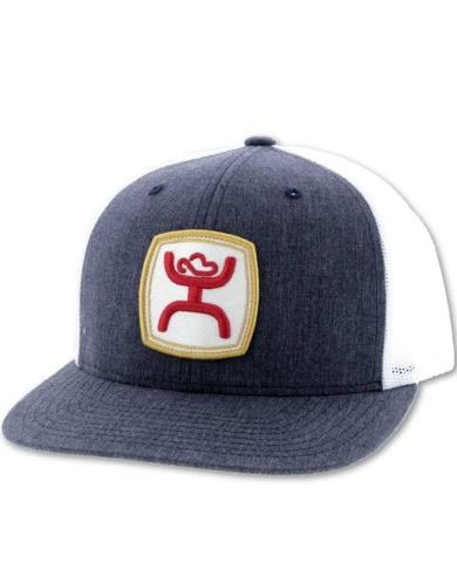 Hats HOOEY Red and White Patch