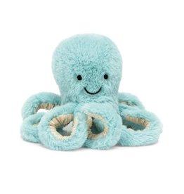 Jellycat JC Baby Octopus blue pink orange