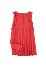 Jean Bourget JB Dress Red Coquelicot JN30042 S19
