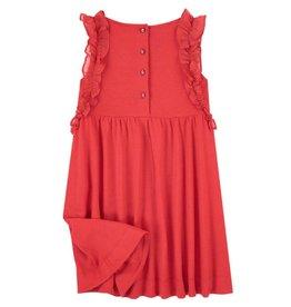 Jean Bourget JB Dress Red Coquelicot JN30042 S19