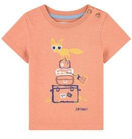 Jean Bourget Jean Bourget T-shirt Fox Terra Cotta
