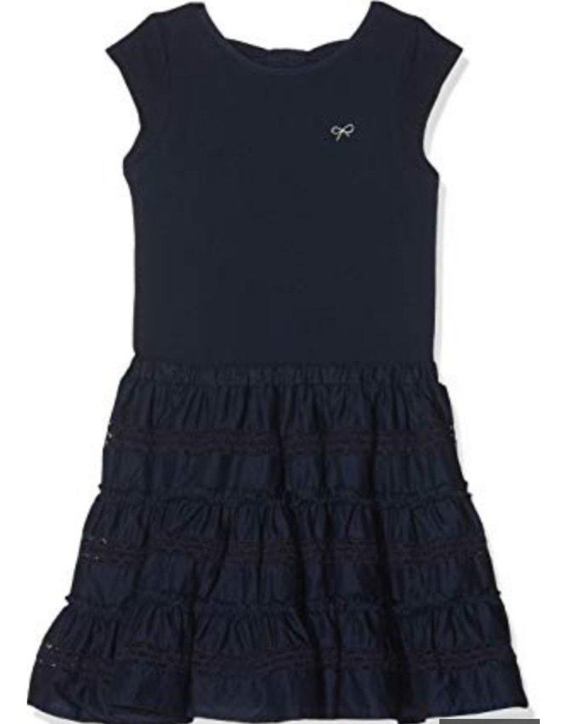 Lili Gaufrette LiliG Dress Navy frills Glenda GN30172 S19