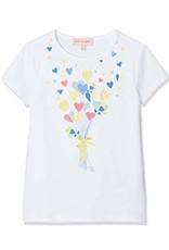 Lili Gaufrette LiliG Tshirt Heart Balloons White GN10092 S19