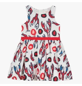 Catimini Catimini Dress Lobster Print