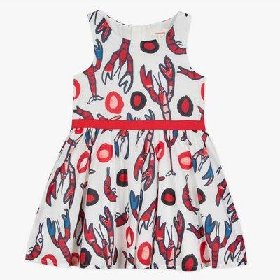 Catimini Catimini Dress Lobster Print