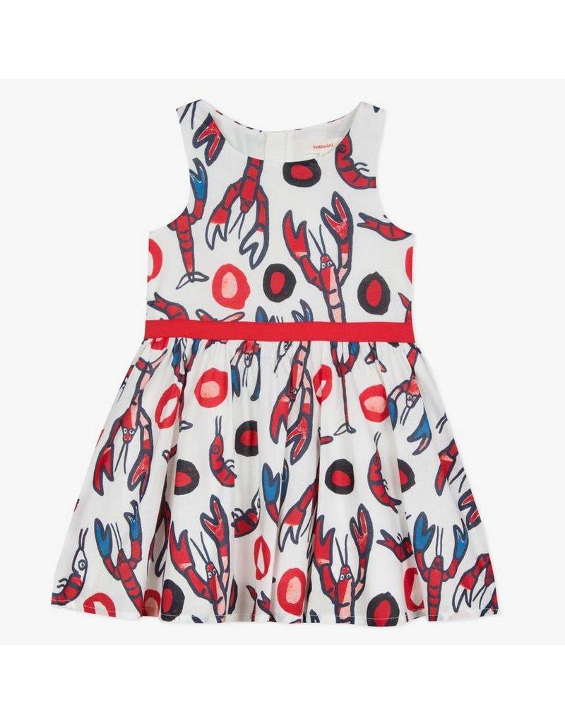 Catimini CAT Dress Lobster Print CN31065 S19