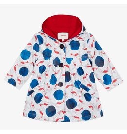 Catimini Catimini Raincoat Lobster Print