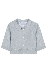 Tartine et Chocolat Tartine Jacket Blue pinstripe