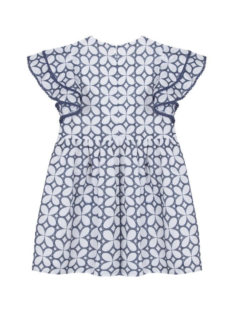 Tartine et Chocolat Tartine dress white/navy