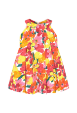 Mayoral Mayoral Dress FlowersCoral