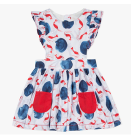 Catimini CAT Lobster Ruffle Dress