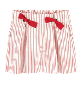 Jean Bourget Jean Bourget coquelicot shorts red stripe