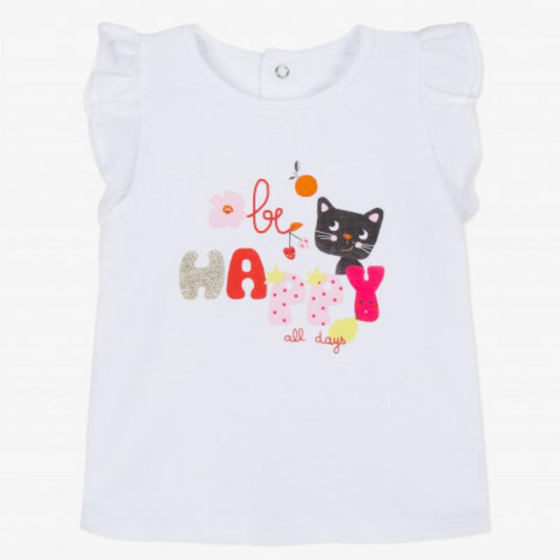 Catimini Catimini Be Happy T Shirt