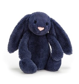 Jellycat JC Bashful Navy Bunny Medium