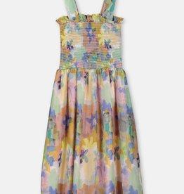 Stella McCartney Stella McCartney Paint Flowers dress multi