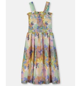 Stella McCartney Stella McCartney Paint Flowers dress multi