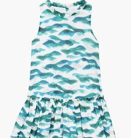 Jean Bourget Jean Bourget Sleeveless Dress Ocean