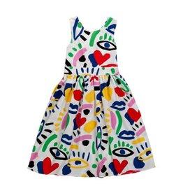 Stella McCartney Stella McCartney Sleeveless dress graphic