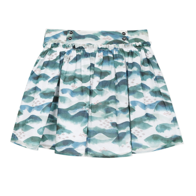 Jean Bourget Jean Bourget Riviera Skirt - Ocean