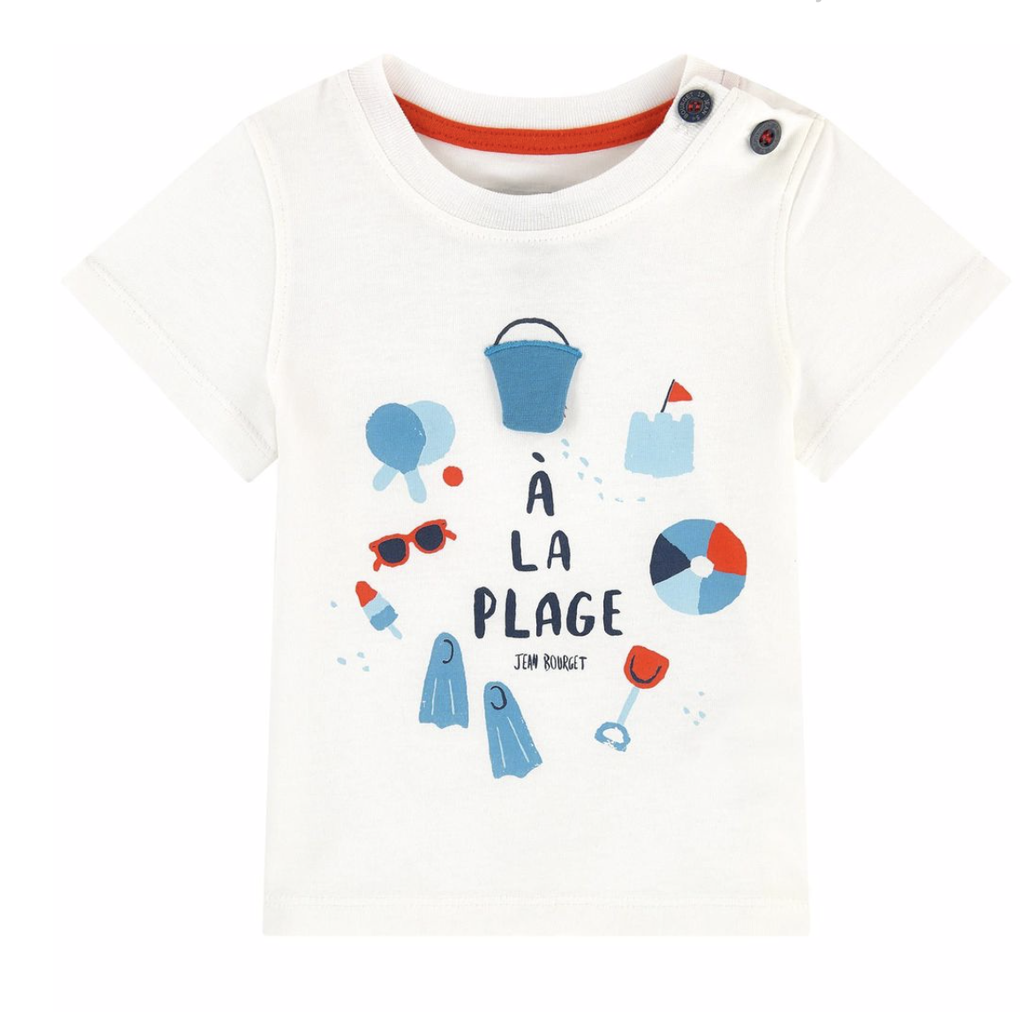 Jean Bourget Jean Bourget Beach T-Shirt