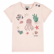 Jean Bourget Jean Bourget Pink Sea T-Shirt