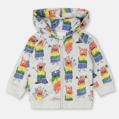 Stella McCartney Stella McCartney Rainbow Monster Hoodie