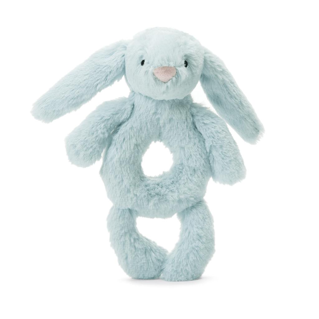 Jellycat Jellycat Bunny Ring Rattle Blue