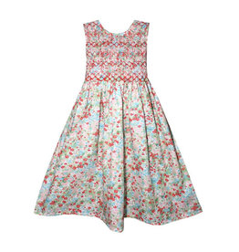 Isabel Garreton Isabel Garreton Smocked Floral Dress
