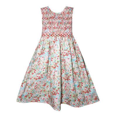 Isabel Garreton Isabel Garreton Smocked Floral Dress