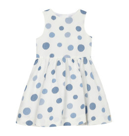 Tartine et Chocolat Tartine Polkadot Dress - bleu azur