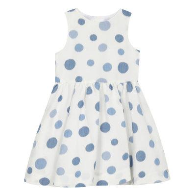 Tartine et Chocolat Tartine et Chocolat Polkadot Dress - bleu azur