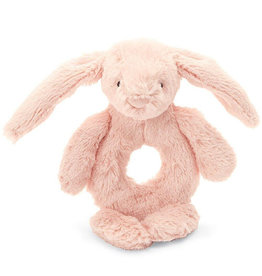 Jellycat Jellycat Bunny Ring Rattle Pink