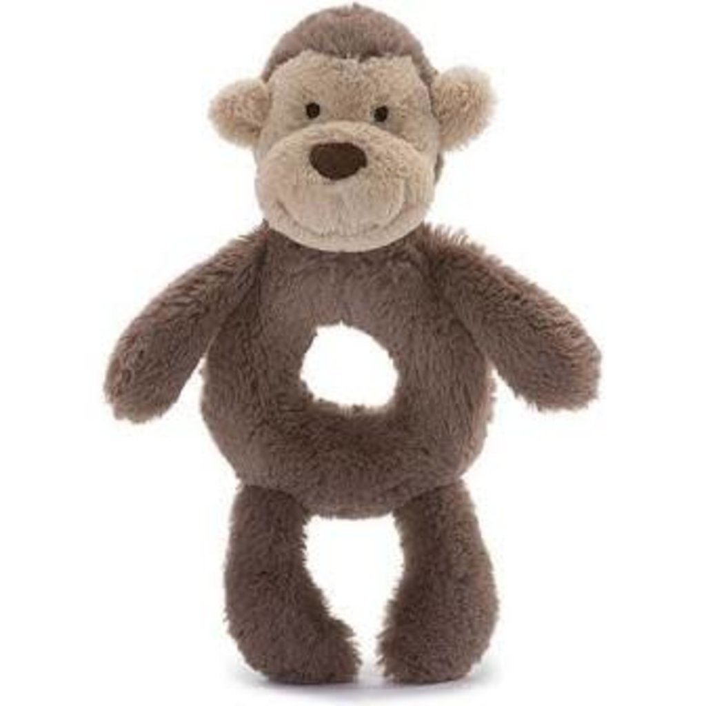 Jellycat Jellycat Bashful Monkey rattle