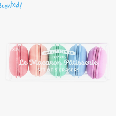 Ooly Ooly Macaron Scented Erasers Set of 5