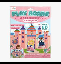 Ooly Ooly Sticker Scenes Princess Garden